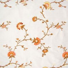 Loose layout is suitable for the late 18th century, especially ofter 1770. The colors are a bit too uniform, but not unsuitable. The flowers are well stylized. This could be a block print or embroidery.