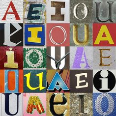 Vowels by chrisinplymouth, via Flickr