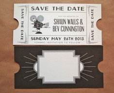 Art Deco Wedding Invitations | Art Deco is the word in wedding invitations for 2013! | Ink Love