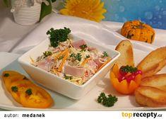 Svěží vitamínový salát ze zelí recept - TopRecepty.cz Tacos, Ethnic Recipes, Food, Essen, Meals, Yemek, Eten