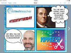 #TechTipTuesday: You can now make #Comics with Book Creator Team #ettipad #elemchat #creativity