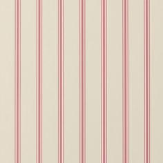 Jolie Stripe Raspberry Wallpaper - W0029/06   Clarke & Clarke   Serendipity Home Interiors