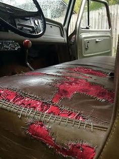 SUPER STOCK 1965 Patina Shop Truck Volvo Commercial transport has its own secret headquarters New Trucks, Custom Trucks, Cool Trucks, Chevy Trucks, Pickup Trucks, Custom Cars, Cool Cars, Dually Trucks, Rat Rod Pickup