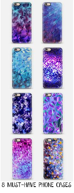 8 MUST-HAVE PHONE CASES Purple and Blue, By Ebi Emporium on @casetify Shop Now…