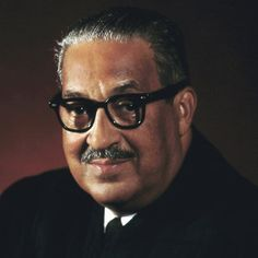 """On June 27, 1991 Thurgood Marshall retired from the US Supreme Court because of failing health, and died a year and a half later. He was quoted as saying, """"I have a lifetime appointment and I intend to serve it. I expect to die at 110, shot by a jealous husband."""" (If he had lived he'd only be 104 and Clarence Thomas would have some other job.) #TodayInBlackHistory"""
