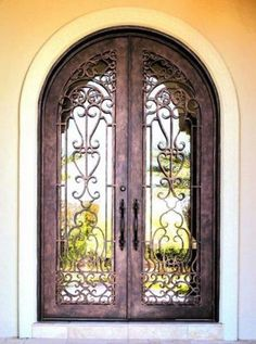 Find this Pin and more on Mediterranean Doors. & Lerida-106 - Wrought Iron Doors Windows Gates \u0026 Railings from ... Pezcame.Com