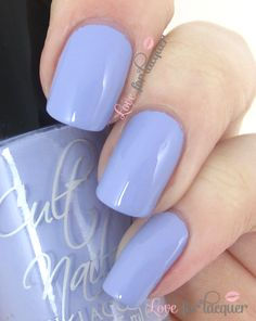Casual Elegance - Soft pale purple cream.