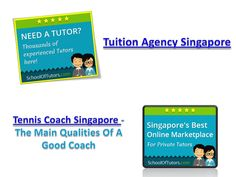 Tuition agency assignments