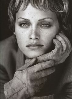 Amber Valetta /  Photos PETER LINDBERGH #beautiful #faces #women