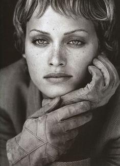 Amber Valetta /  Photos PETER LINDBERGH #beautiful #faces #women