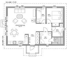 Cabin Plans, House Plans, Baby Steps, Cottage Homes, Villa, Floor Plans, Flooring, How To Plan, Architecture