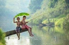 #fishing even in the #rain