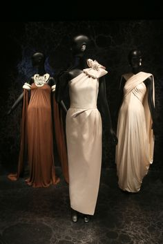 """A view of """"Jacqueline de Ribes: The Art of Style"""" at The Met 2015-2016......."""