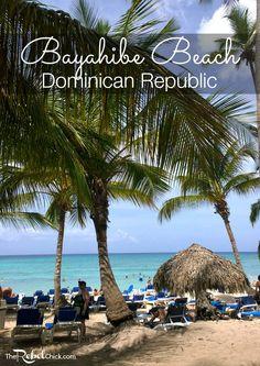 Bayahibe Beach in the Dominican Republic