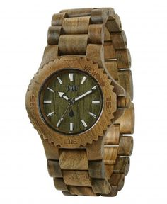 WeWOOD date army watch :for my man