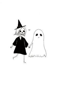 Walking with a Ghost - katphilbin