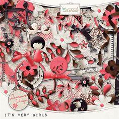 It's Very Girls [LDitsverygirls] - €3.50 : My Scrap Art Digital, Passion for Digital Scrapbooking