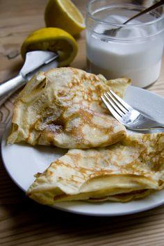 Basic pancake recipe for Pancake Tuesday Happy Pancakes, Pancakes And Waffles, Breakfast Pancakes, Brunch Recipes, Breakfast Recipes, Pancake Recipes, Breakfast Dishes, Irish Recipes, Good Enough To Eat