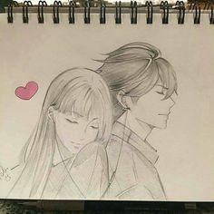 Easy Love Drawings, Easy Drawings Sketches, Cute Couple Drawings, Girly Drawings, Anime Couples Drawings, Cool Art Drawings, Pencil Art Drawings, Romantic Drawing, Scratchboard Art