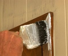 Take your home out of the by painting your wood paneling. We'll show you how simple it is to give wood paneling a clean, modern look with paint. Painting Wood Paneling, Painting Trim, House Painting, Paneling Painted, Interior Paint, Interior Decorating, Decorating Ideas, Paint Rv, Easy Paintings