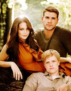 Hunger Games ( I just pinned this because if the 2 cute boys ;)