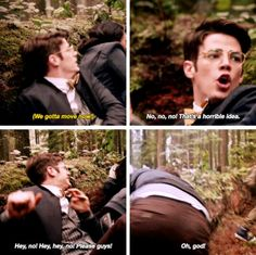 """""""That's a horrible idea!"""" - Barry Allen from Earth-2 #TheFlash ((Poor guy))"""