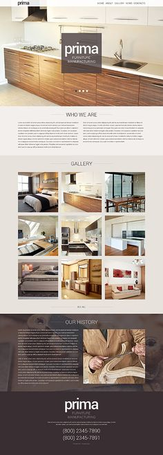 Furniture WordPress Theme wordpress website template