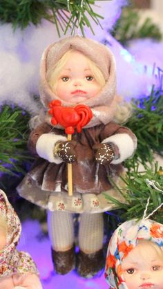 Елена Вылегжанина Cotton Crafts, Spun Cotton, Photo Wall, Christmas Ornaments, Holiday Decor, Winter, Diy, Christmas, Craft