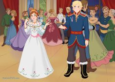 Another version of Anna and Kristoff's wedding. This time I used designs from a paper doll set I've seen. Made With Snow Queen Scene Maker by Azaleasdolls. The Royal Wedding Cute Princess, Princess Anna, Princess Zelda, Snow Queen, Azalea Dress Up, Time Cartoon, Doll Divine, Dress Up Dolls, Up Game