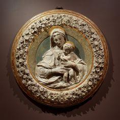 Isabella Stewart Gardner Museum : Virgin and Child, Benedetto da Maiano, (Florence), 1442-1497