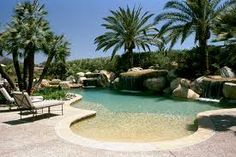 beach entry pools - Google Search