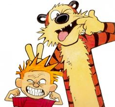 Calvin and Hobbes!