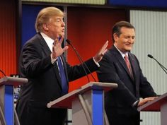 Trump, Cruz Angling For One-On-One Republican Race.  The U.S. Republican front-runner, billionaire Donald Trump, and U.S. Senator Ted Cruz were angling for a two-man race for the party's presidential nomination on Sunday after evenly splitting four state nominating contests at the weekend...  Read more: http://www.nationalmemo.com/trump-cruz-angling-for-one-on-one-republican-race/