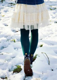Doctor Martens In the Snow by Sarah-Louise Burns, via Flickr 1460 boot by Dr. Martens are my most favorite thing in the universe if you couldn't already tell!