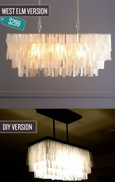 Build a pendant chandelier.