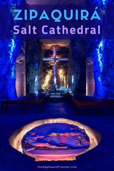 The massive Zipaquira Salt Cathedral is carved completely from salt. Get tips on how to visit and see photos of this unique day trip from Bogota! Travel Inspiration, Travel Ideas, Travel Tips, Travel Advice, Budget Travel, Colombia Travel, Solo Travel, Hawaii Travel, South America Travel