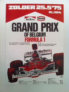 Grand Prix of Belgium Formula 1 (25 mei 1975)