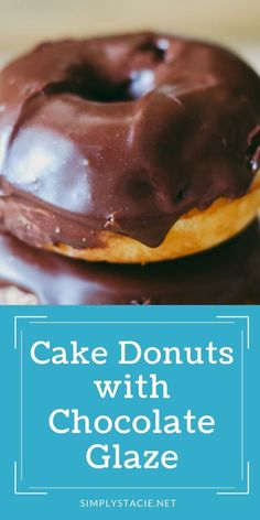 Easy Donut Recipe, Baked Donut Recipes, Baking Recipes, Easy Homemade Cake, Homemade Desserts, Delicious Chocolate, Chocolate Recipes, Traditional Easter Desserts, Best Breakfast Recipes