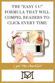Want to make your headlines clickworthy? Click HERE for access to my free checklist for high-converting headlines today!