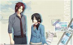 Harada Sanosuke and Yukimura Chizuru - Sweet School Life