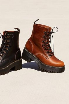 #docmartensoutfits Doc Martens Outfit, Doc Martens Style, Doc Martens Boots, Shoes Boots Ankle, Platform Ankle Boots, Combat Boots, Women's Shoes, Riding Boots, Mid Calf Boots