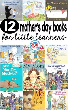 12 Mother's Day Books for Little Learners Our 12 favorite Mothers Day books are the perfect gift for your favorite moms or to get your students excited about Mother's Day. These are great for preschool, kindergarten, or first grade students. Mothers Day Book, Mothers Day Pictures, Diy Mothers Day Gifts, Happy Mothers Day, Kindergarten Books, Preschool Books, Preschool Literacy, Preschool Lessons, Mother's Day Story