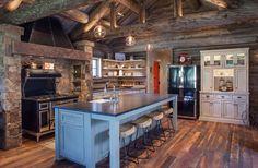 Rustic Farmhouse Kitchen Lighting