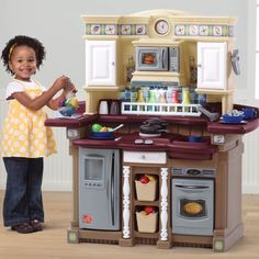 Lifestyle Partytime Kitchen Brown Http Www Activitytoysdirect Com Step2
