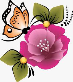 Cartoon Flowers, One Stroke Painting, Special Flowers, Country Paintings, Heart Wallpaper, Painted Wine Glasses, Flower Doodles, Art Sketchbook, Applique Designs