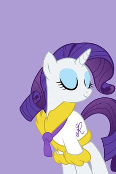 My Little Pony - iPhone Wallpapers - Rarity by doctorpants