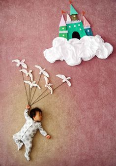 Super-Talented Mother Turns Her Sleeping Baby Into Magical Works Of Art