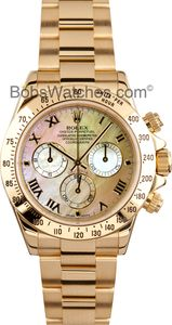 #Rolex #Daytona #Mother-of-Pearl At Bob's Watches