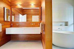 Zen Bathroom love the sinks