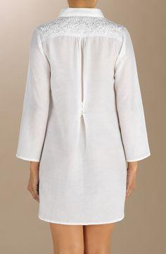robe ample blanche NAYA pain de sucre